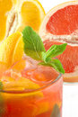Free Fresh Cocktail With An Orange And Mint Stock Image - 14343711