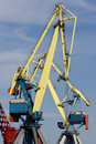 Free Cranes Working At The Commercial Dock Stock Images - 14348044