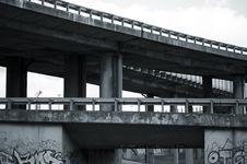 Free Damaged Overpass Stock Photos - 14340163