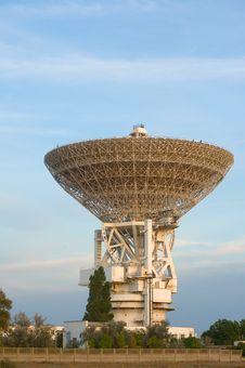 Free Very Large Radio Telescope Royalty Free Stock Photos - 14340498