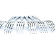 Free Forks Stock Photography - 14340612