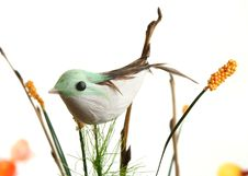 Free Decorative Bird On Branch Stock Photos - 14340673