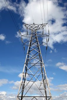 Free Electricity Pylon Royalty Free Stock Images - 14340739