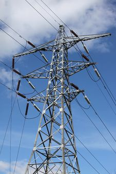 Free Electricity Pylon Royalty Free Stock Images - 14340789