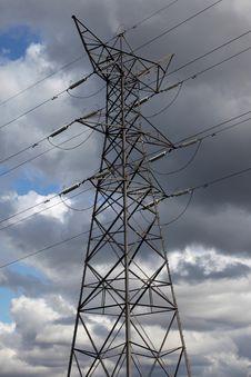 Free Electricity Pylon Royalty Free Stock Image - 14340846