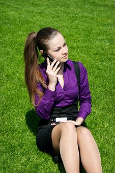 Free Young Businesswoman Calling Stock Images - 14343014