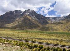 Free Mountains In Southern Peru Stock Photos - 14343023