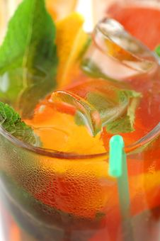 Fresh Cocktail With Royalty Free Stock Photo