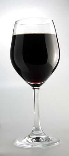 Free A Glass Of Red Wine Royalty Free Stock Images - 14344199