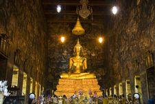 Free Golden Buddha Royalty Free Stock Images - 14345079