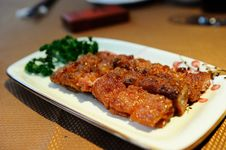 Free Barbecued Pork Stock Images - 14345314