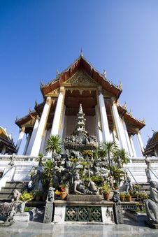 Free Temple Of Wat Sa Get Royalty Free Stock Image - 14345536