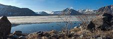 Free Mountain Spring Panorama Stock Images - 14345934