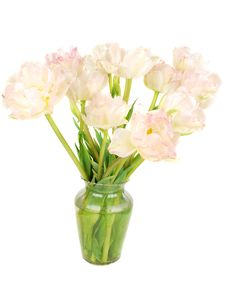 Free Beautiful Pink Piny Tulips  In Vase Royalty Free Stock Photos - 14346578