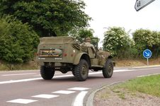 Free US Army Car Willis Stock Photography - 14348612