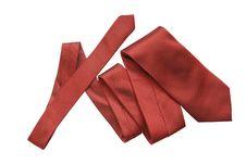 Free Red Necktie On White Stock Image - 14349121