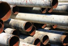 Free Iron Pipe Royalty Free Stock Photo - 14349795