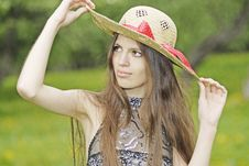 Free Straw Hat Stock Image - 14349911