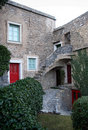 Free Stone House And Courtyard Stock Images - 14350154