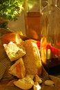 Free Making Garlic Bread Stock Photo - 14353680