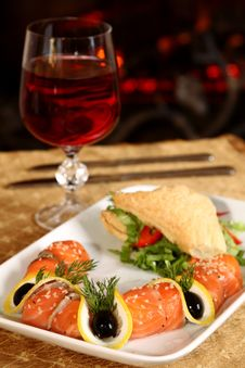 Free Dinner Stock Photography - 14350242