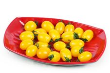 Free Yellow Tomatoes Royalty Free Stock Images - 14350509