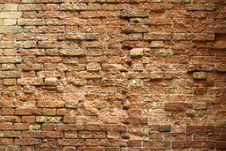 Free Venetian Brick Wall Stock Image - 14350551