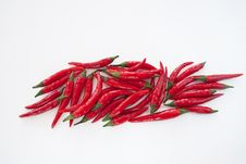 Free Red Chili Pepper Royalty Free Stock Photography - 14350907