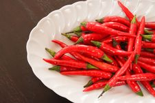 Free Red Chili Pepper Royalty Free Stock Image - 14350916