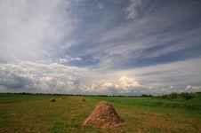 Rural Scenery In Spring Stock Photos