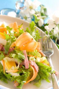 Free Vegetables Salad Stock Image - 14351251