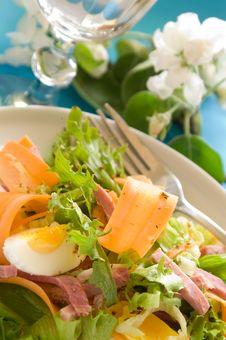 Free Vegetables Salad Stock Photo - 14351270