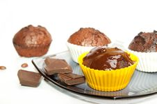 Free Chocolate Muffin Royalty Free Stock Photos - 14351538