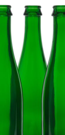 Free Green Glass Bottle Royalty Free Stock Image - 14351546