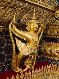 Free Side Of Garuda Royalty Free Stock Photography - 14351667