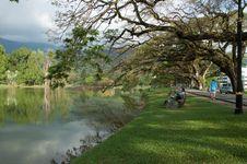 Beautiful Lake At Taiping Stock Photo
