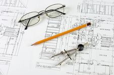 Free Drawings Of Building Stock Images - 14352614