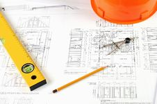Free Drawings Of Building Stock Image - 14352631