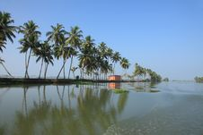 Free Backwaters Of Kerala Royalty Free Stock Images - 14352769