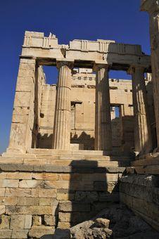 Free Propiela Tower Front Access Door On Acropolis Stock Photo - 14352770