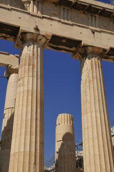 Free Parthenon Temple Goddess Athens Stock Photos - 14353343