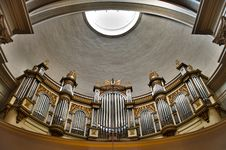 Free Church Organ Royalty Free Stock Photos - 14353568