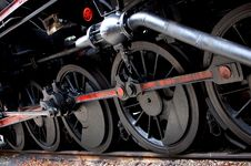 Free Wheels Old Train Stock Photo - 14353920
