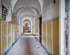 Free Old Hospital Corridor Royalty Free Stock Photography - 14354507