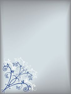 Free Floral Card Royalty Free Stock Images - 14355149