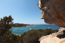 Italy Sardegna Rocks Of The Gallura Royalty Free Stock Images
