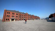 Free Yokohama Red Brick Warehouse Royalty Free Stock Photography - 14355747