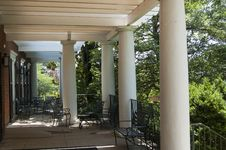Free Jefferson Garden House Stock Photos - 14355813
