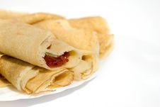 Free Pancakes. Royalty Free Stock Photos - 14356198