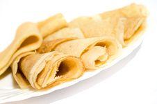 Free Pancakes. Stock Photography - 14356222